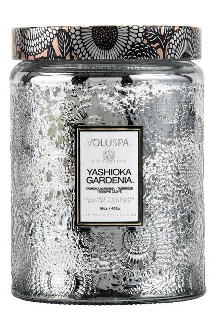 Voluspa Yashioka Gardenia Silver Embos