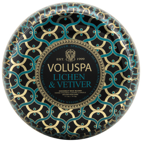 Voluspa Metallo - Lichen and Vetiver