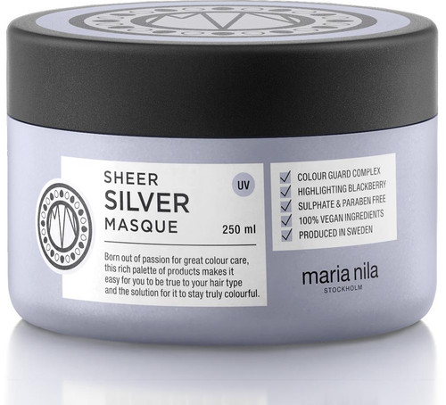 Maria Nila Sheer Silver Masque 8.5 oz