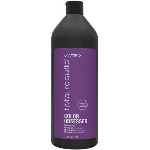 Matrix Total Results Color Obsessed Antioxidant Shampoo, 33.8 oz / 1 L