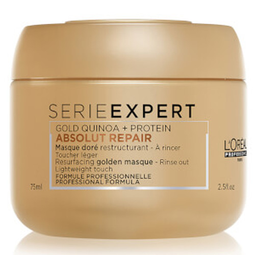 Loreal Serie Expert GOLD Absolut Repair Protein Mask Masque - 2.5 oz