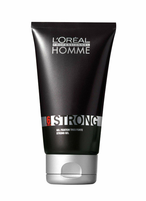 L'Oreal Professionnel Homme Strong - Strong Hold Gel 5 oz
