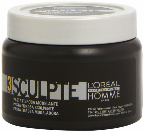 L'Oreal Paris Homme Men Sculpt Fiber Paste 5.1 oz