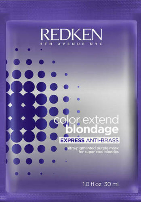 Redken Color Extend Blondage Express Anti-Brass Purple Hair Mask 1 oz
