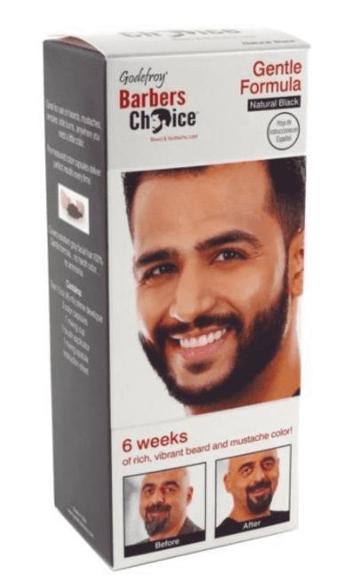 Godefroy Beard & Mustache Color Natural Black