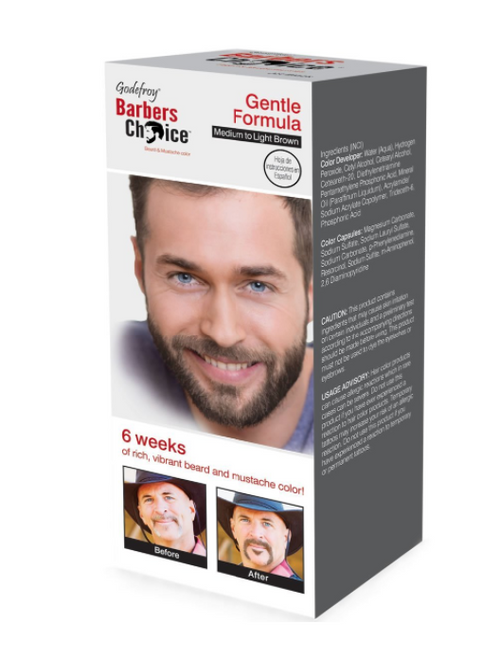 Barbers Choice Medium to light Brown