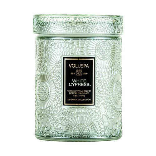 Voluspa White Cypress Mini Jar