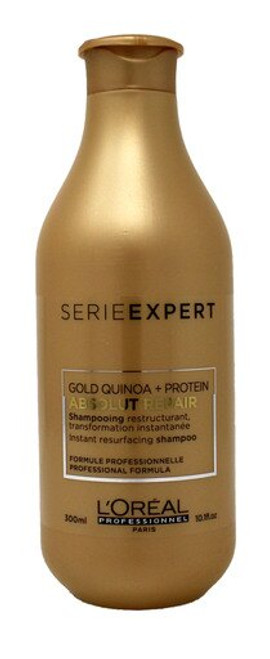 Loreal Absolut Repair Gold Shampoo 10.1