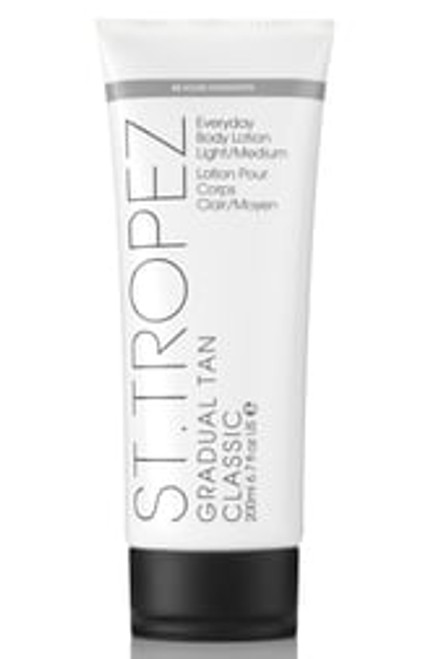 St. Tropez Gradual Tan Classic Everyday Body Lotion Light/Medium 6.7 Oz.