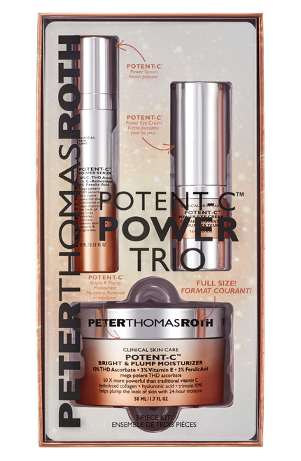 Peter Thomas Roth Potent-c Trio Kit In Box