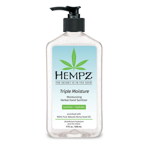 Hempz Triple Moisture Moisturizing Gel 17 Oz