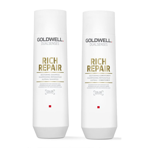Goldwell Dualsenses Rich Repair Shampoo 10.1 oz Conditioner 10.1 oz Duo