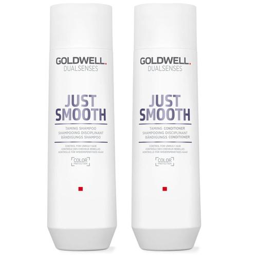 Goldwell Dualsenses Just Smooth Shampoo 10.1 oz & Conditioner 10.1 oz Duo