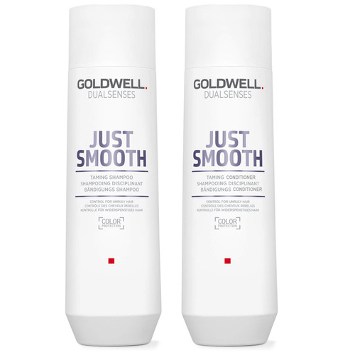 Goldwell Dualsenses Just Smooth Shampoo 10.1 oz & Conditioner 10.1 oz Duo