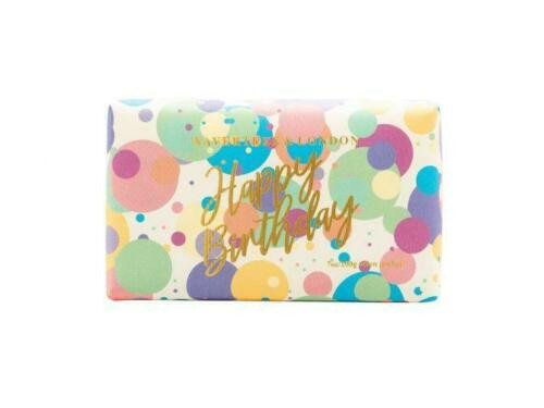 Wavertree & London Gift soaps 7 oz Happy Birthday