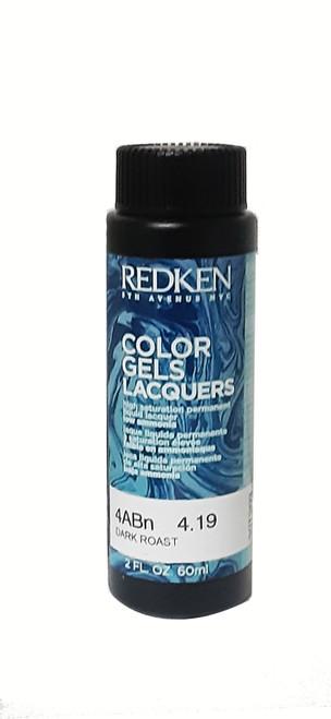 Redken 4ABn Dark Roast Color Gel 4.19 2 oz