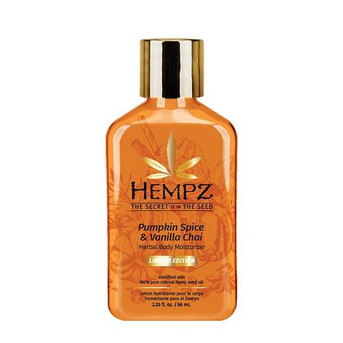 Hempz Limited Edition Pumpkin Spice & Vanilla Chai Herbal Body Moisturizer2.25 oz