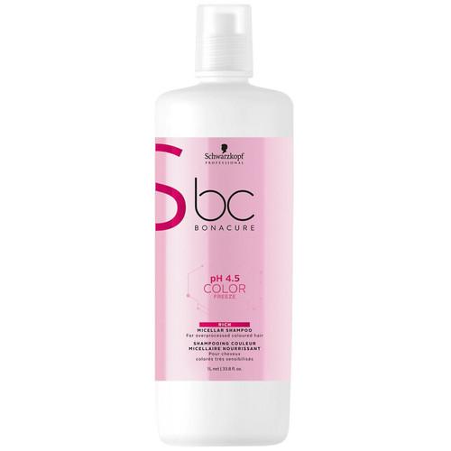 Schwarzkopf BC pH4.5 Color Freeze Micellar Rich Shampoo 1L