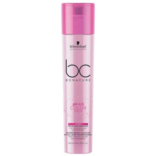 Schwarzkopf Bonacure Ph 4.5 Color Freeze Micellar Rich Shampoo 8.5 oz