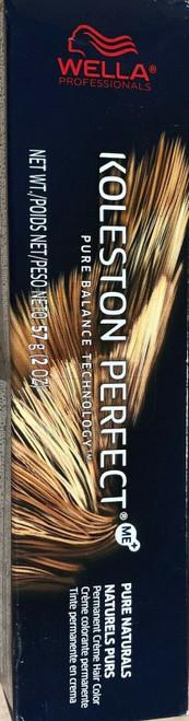 Wella Koleston Perfect Me+ Pure Naturals Hair Color 5/0 Light Brown 60ml 2 oz