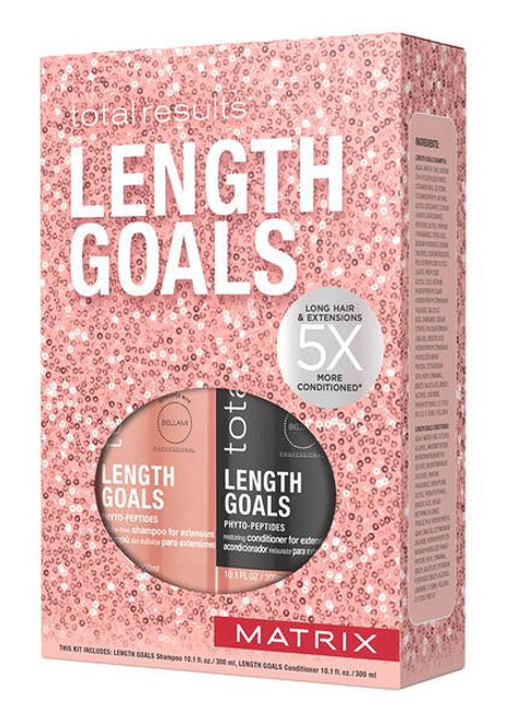 Matrix Total Results Shampoo & Conditioner Length Goals Trio Gift Set