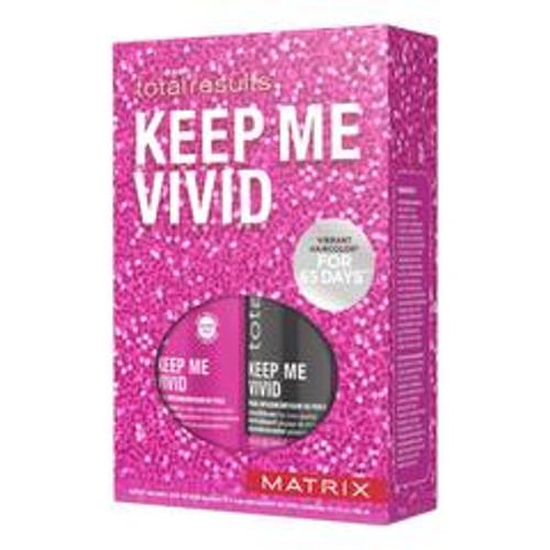 Matrix Total Results Shampoo 10.1 oz Conditioner 10.1 oz Keep Me Vivid Gift Set