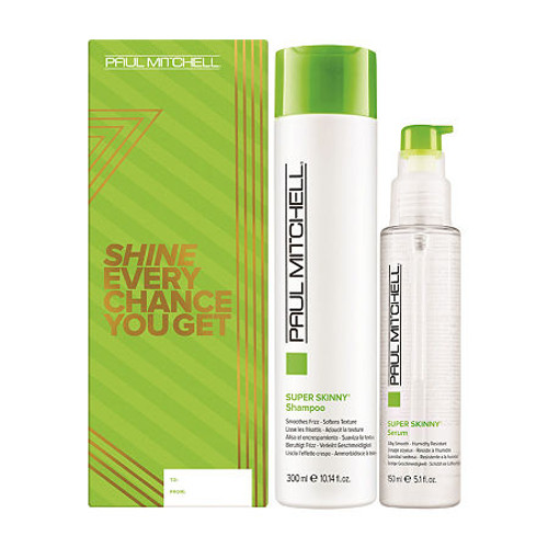 Paul Mitchell Super Skinny Shampoo 10.14 & 5.1 Serum Smoothing Holiday Gift Set