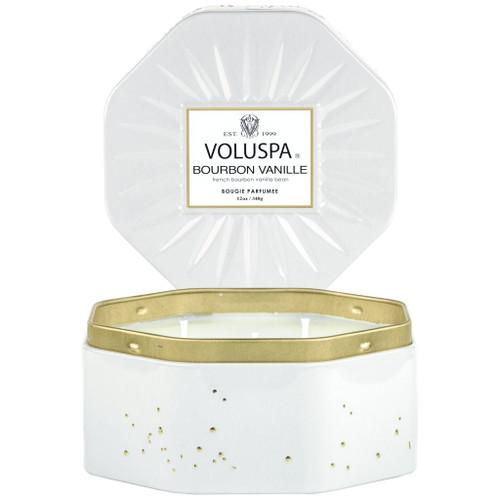Voluspa Boubon Vanille Octagon Tin