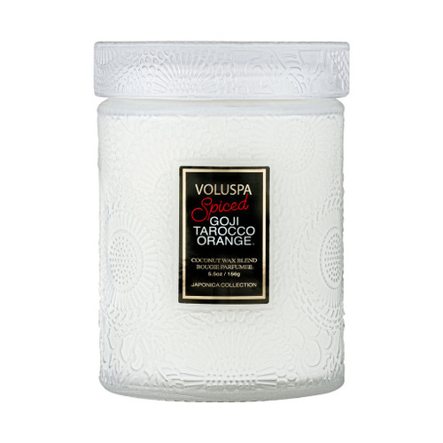 Voluspa Goji & Tatocco Orange Small Glass Jar