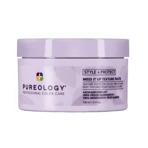 Pureology Style + Protect Mess it Up Hair Texture Paste Medium Hold 3.4 Oz