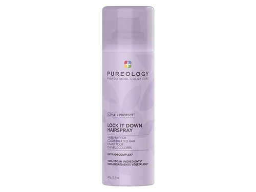 Pureology Style + Protect Lock It Down Hairspray 2.1 Oz