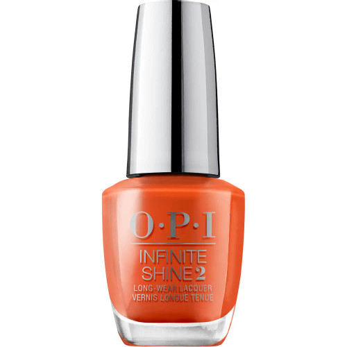 OPI Infinite Shine Scotland Limited Edition 3 Step Nail Polish - Suzi Needs a Loch-Smith 15 mL  Channel your inner sassy lassie with OPI's Limited Edition Scotland Collection, a series of nail polishes that celebrate the bonny hues of Caledonia with a vast range of braw shades to make your wee tips pop. With up to 11 days of wear, the 3-step Infinite Shine formula is more than just your regular nail lacquer. Powered by OPI's proprietary ProStay Technology that ensures the color on your digits doesn't budge, it combines bold, high-gloss shades with a chip-resistant formula. Gliding smoothly over nails and evenly coating them in rich, creamy pigments, the salon-grade varnish is the second step toward a pure tidy mani.