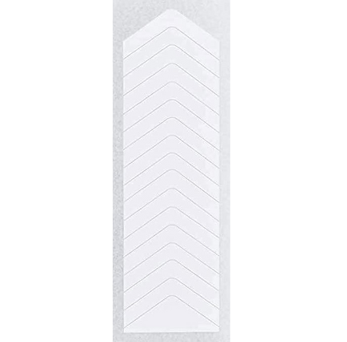 Orly French Manicure White Tip Guides Chevron Style