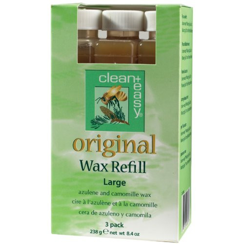 CLEAN AND EASY PRO ORIGINAL WAX LARGE REFILL These refills fit the Spa Full Service Unit, Spa Basic and Portable Waxer Unit, Spa Basic Service Kit as well as of the discontinued Full Service Unit Product Options.