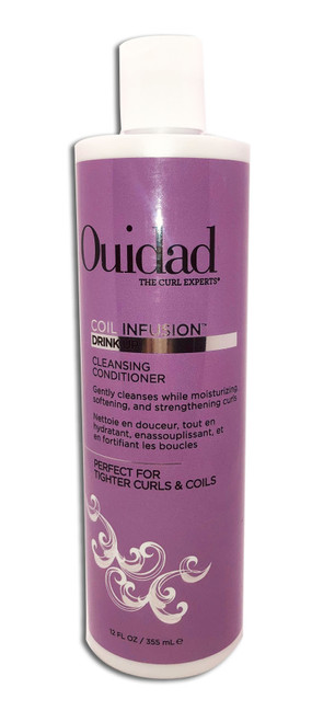 Ouidad Drink Up Cleansing Conditioner, 12-oz. Beauty Hair Care - Hair Care.