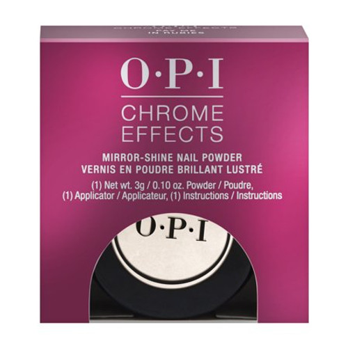OPI Chrome Effects Mirror Shine Nail Powder CP006 - Pay Me In Rubies.