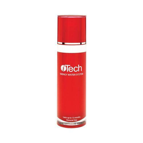 """ITech Energy Water System 3.5 Oz iTech Energy Water System is a special 3-layer spray filter bottle that turns ordinary tap water into """"energy water"""" to spray on the hair and skin for increased condition and softness."""