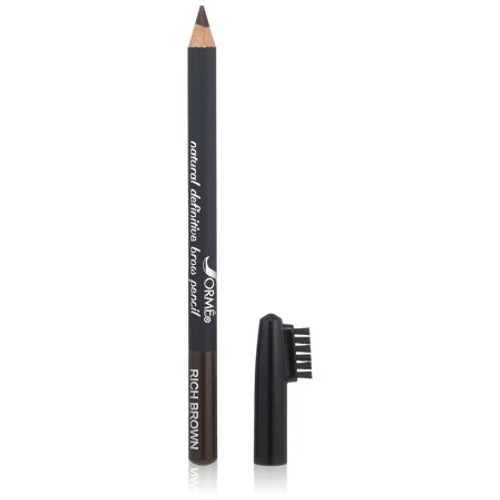 Rich Brown Brow Pencil 33  Color your brows and blend color in with this dual-purpose Brow Pencil and brush combo. Active plant botanicals, natural minerals, healing vitamins and clinically proven, age-reversing peptides help protect and improve your skin as rich color pigments enhance your natural beauty.