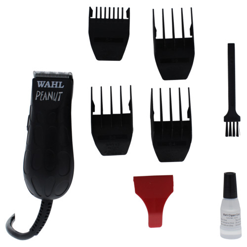 Wahl Peanut Black Electric Hair Trimmer / Clipper  WAHL Professional for Unisex Kit. This Wahl hair trimmer is compact and rechargeable.