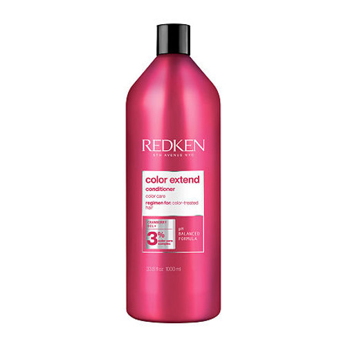Redken Color Extend Conditioner Liter  The sulfate-free, color captivating care you need in a shampoo for colored hair. A smart, targeted delivery system, the exclusive new RCT Protein Complex treats hair from the root to the core to the tip, giving all 3 levels the custom nourishment they need.