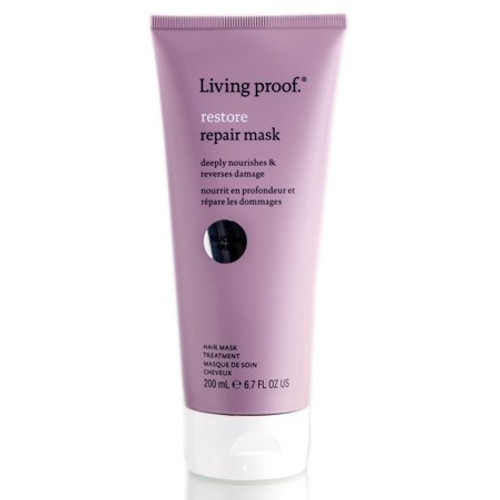 Living Proof Restore Repair Mask 6.7 Oz  Ideal for breathing new life into damaged or dry hair, Living Proof's mask is a transformative treatment that nourishes and refreshes your locks.