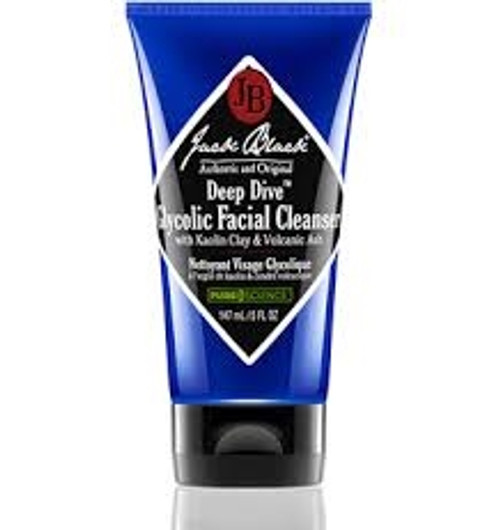 Jack Black Deep Dive Glycolic Facial Cleanser 1 oz