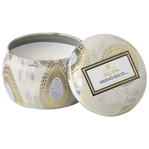 Voluspa Nissho Soleil Mini Tin Candle 4 Oz