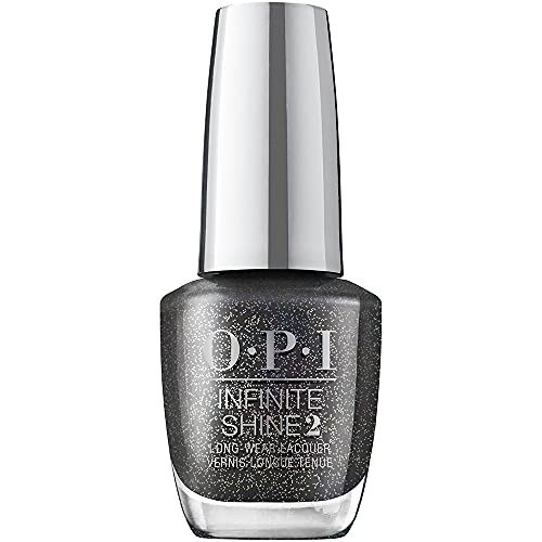 OPI Infinite Shine 2 Long Wear Lacquer Nail Polish - Turn Bright After Sunset 0.5 Oz Gray
