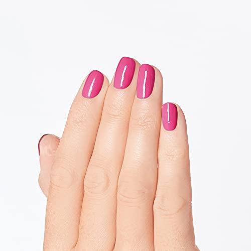 OPI Infinite Shine 2 Long Wear Lacquer Nail Polish - Big Bow Energy 0.5 Oz Pink