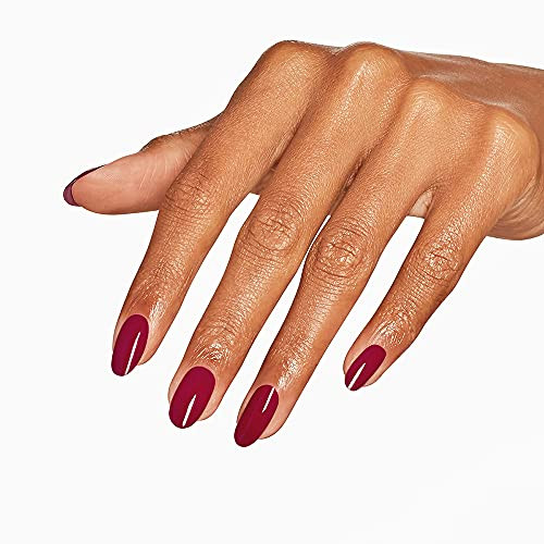 OPI Infinite Shine 2 Long Wear Lacquer Nail Polish - Marachino Cheer-Y 0.5 Oz Dark Red