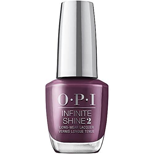 OPI Infinite Shine 2 Long Wear Lacquer Nail Polish - OPI <3 To Party 0.5 Oz Dark Purple