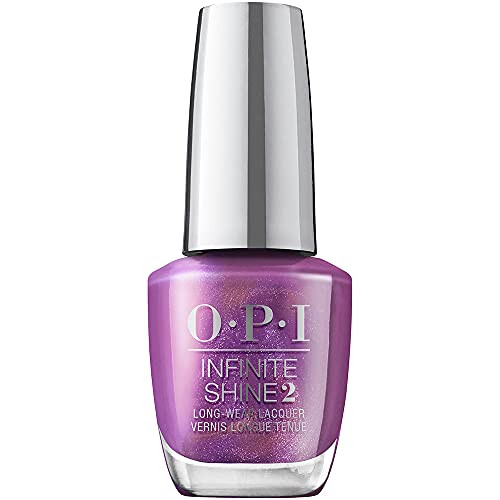 OPI Infinite Shine 2 Long Wear Lacquer Nail Polish - My Color Wheel Is Spinning 0.5 Oz Purple