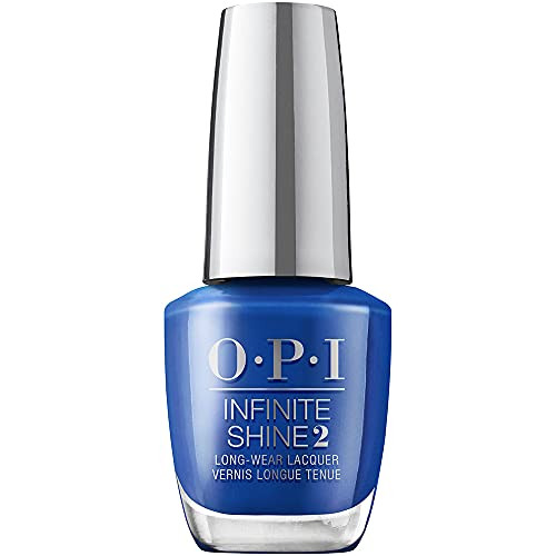 OPI Infinite Shine 2 Long Wear Lacquer Nail Polish - Ring In The Blue Year 0.5 Oz Blue