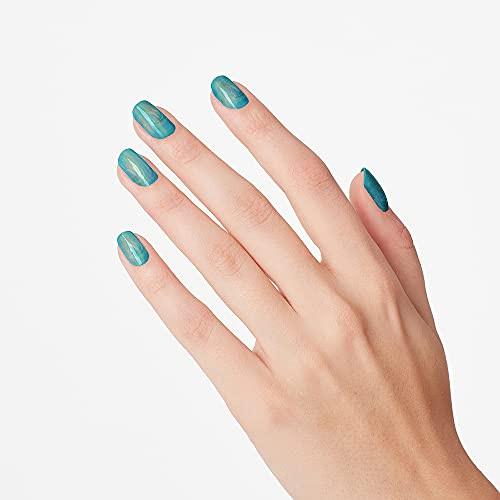 OPI Infinite Shine 2 Long Wear Lacquer Nail Polish - Ready Fete Go 0.5 Oz Blue/Green